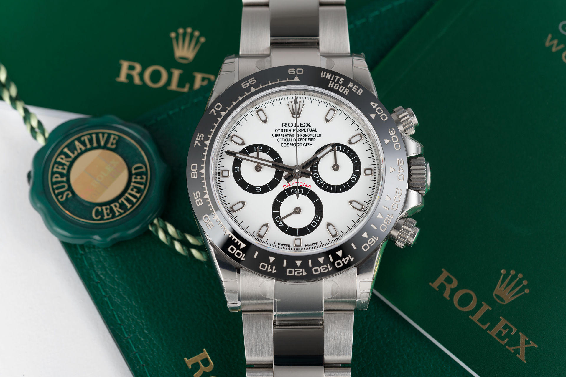 ref 116500LN | Brand New 'Fully Stickered' | Rolex Cosmograph Daytona