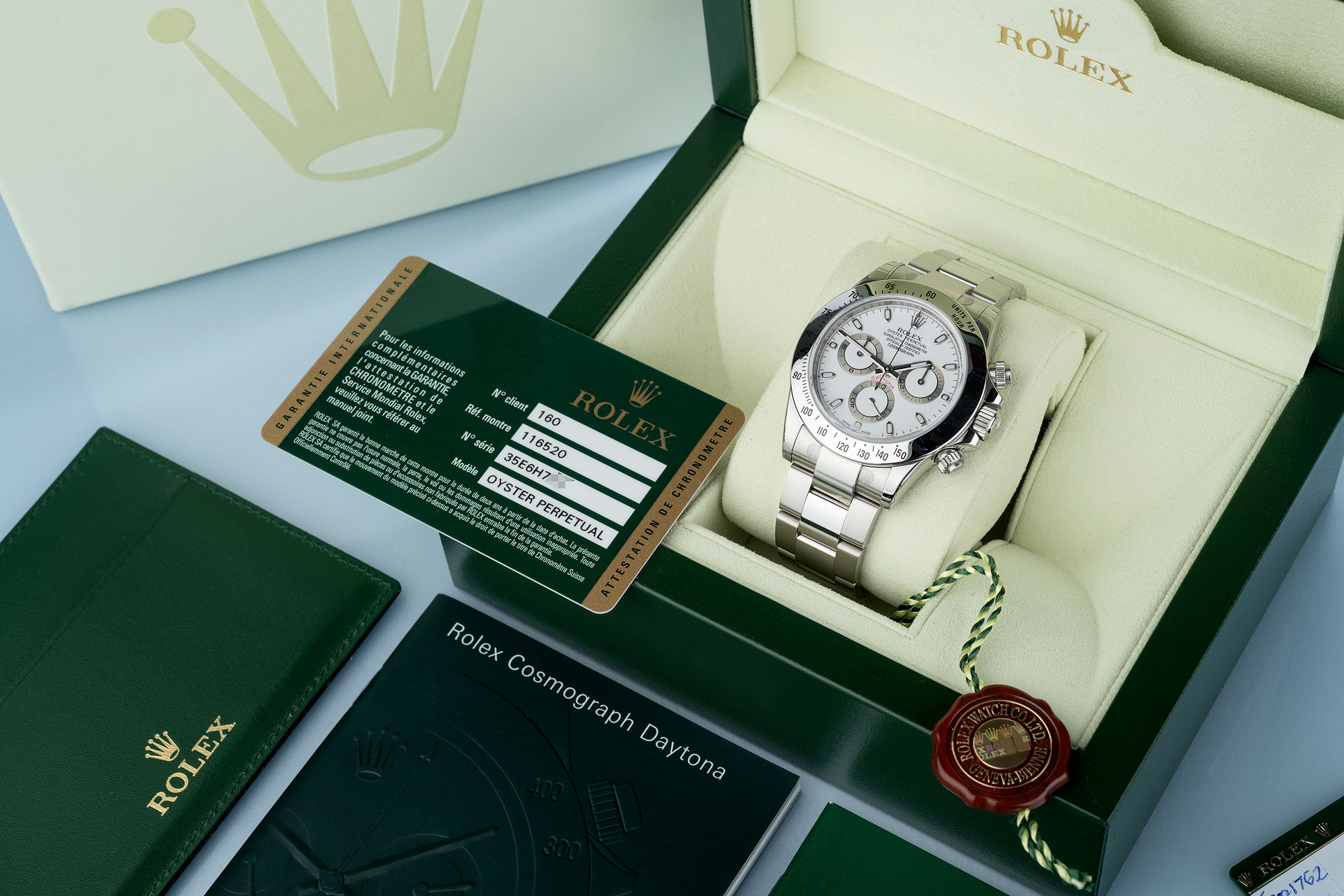 ref 116520 | Brand New & Fully Stickered  | Rolex Cosmograph Daytona