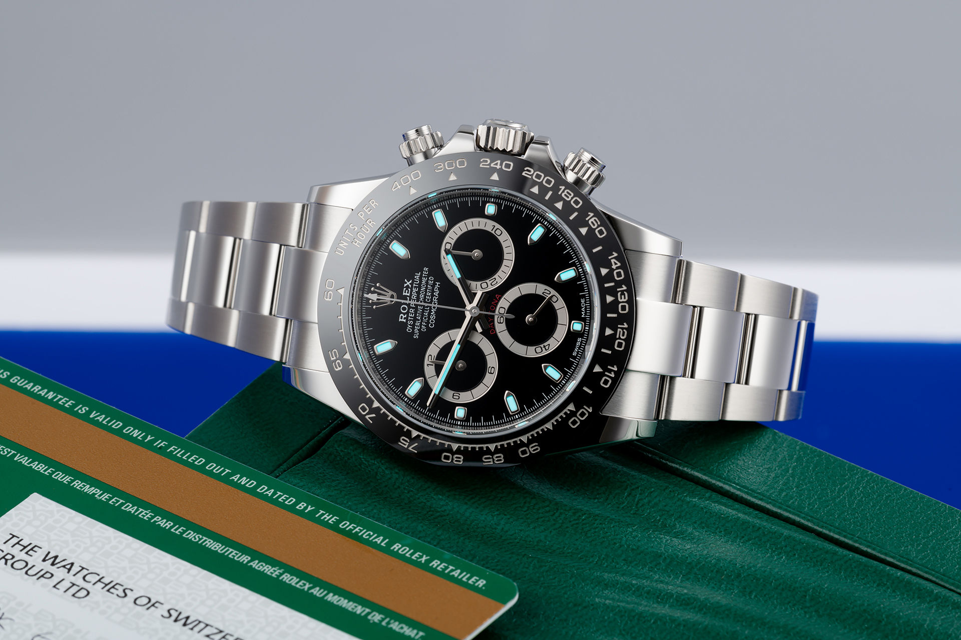 ref 116500LN | Brand New 'Warranty to 2025' | Rolex Cosmograph Daytona