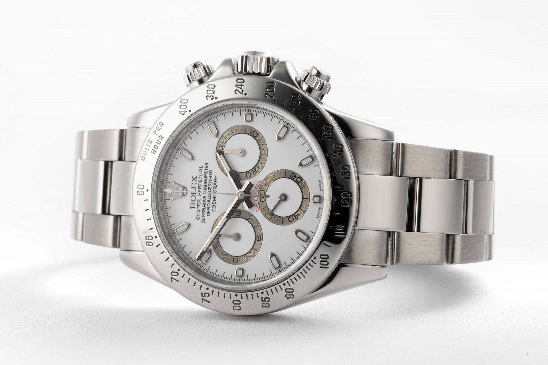 ref 116520 | 'Complete Set' Discontinued Model | Rolex Cosmograph Daytona