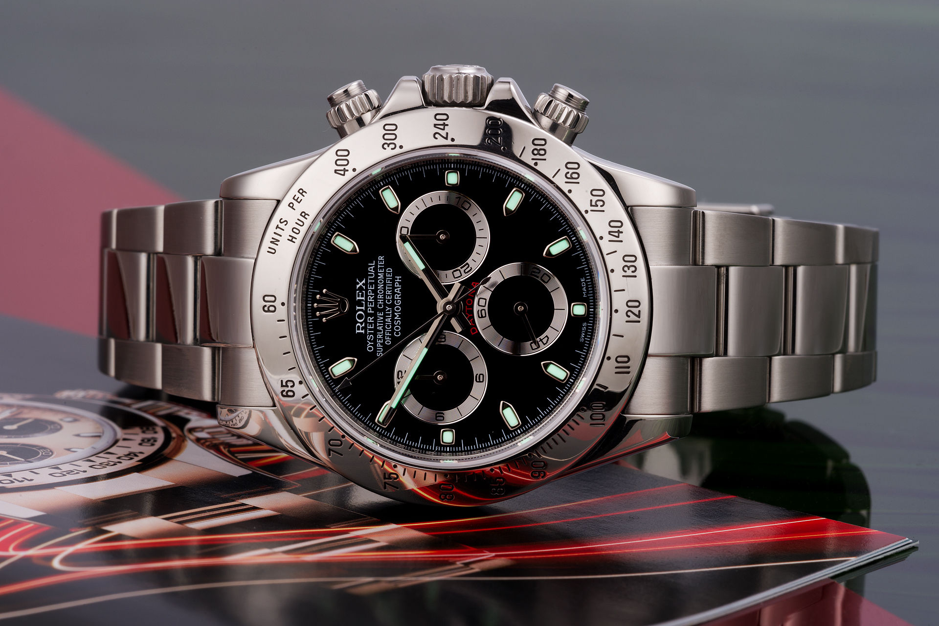 ref 116520 | Discontinued Model 'Complete Set'  | Rolex Cosmograph Daytona