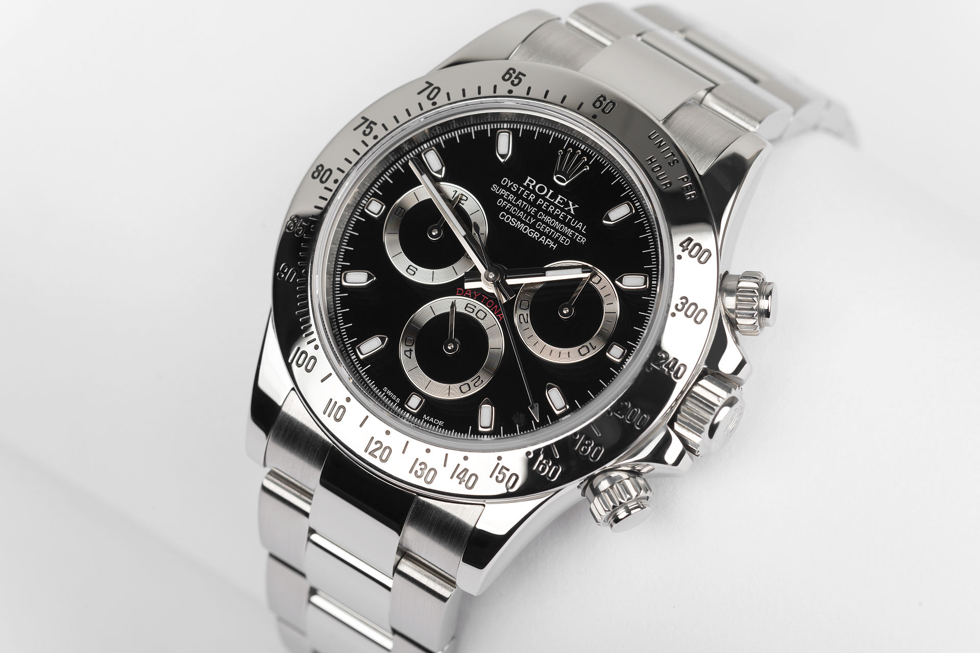 ref 116520 | Full Set 'Five Year Warranty' | Rolex Cosmograph Daytona