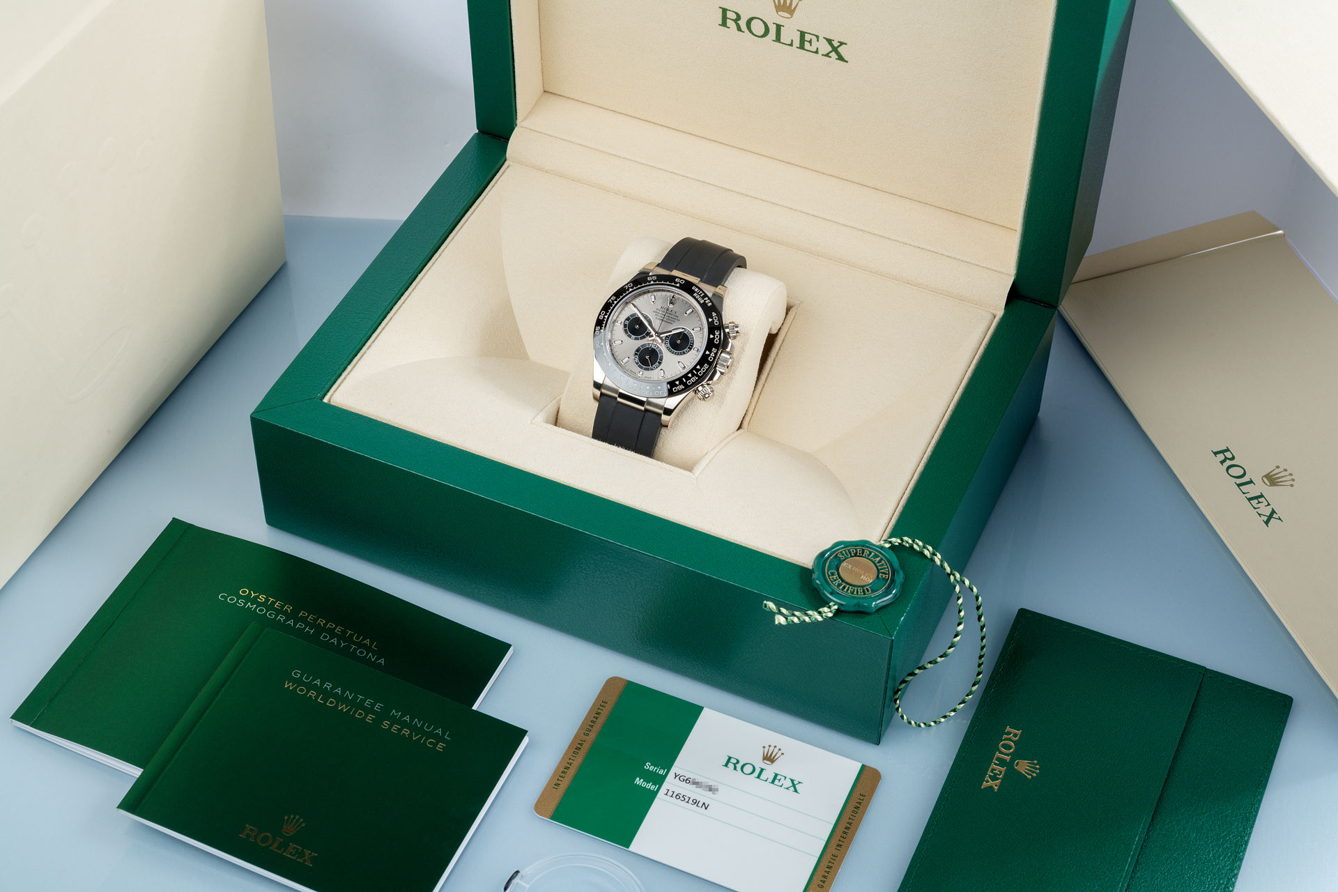 ref 116519LN | Latest Model '5 Year Warranty' | Rolex Cosmograph Daytona