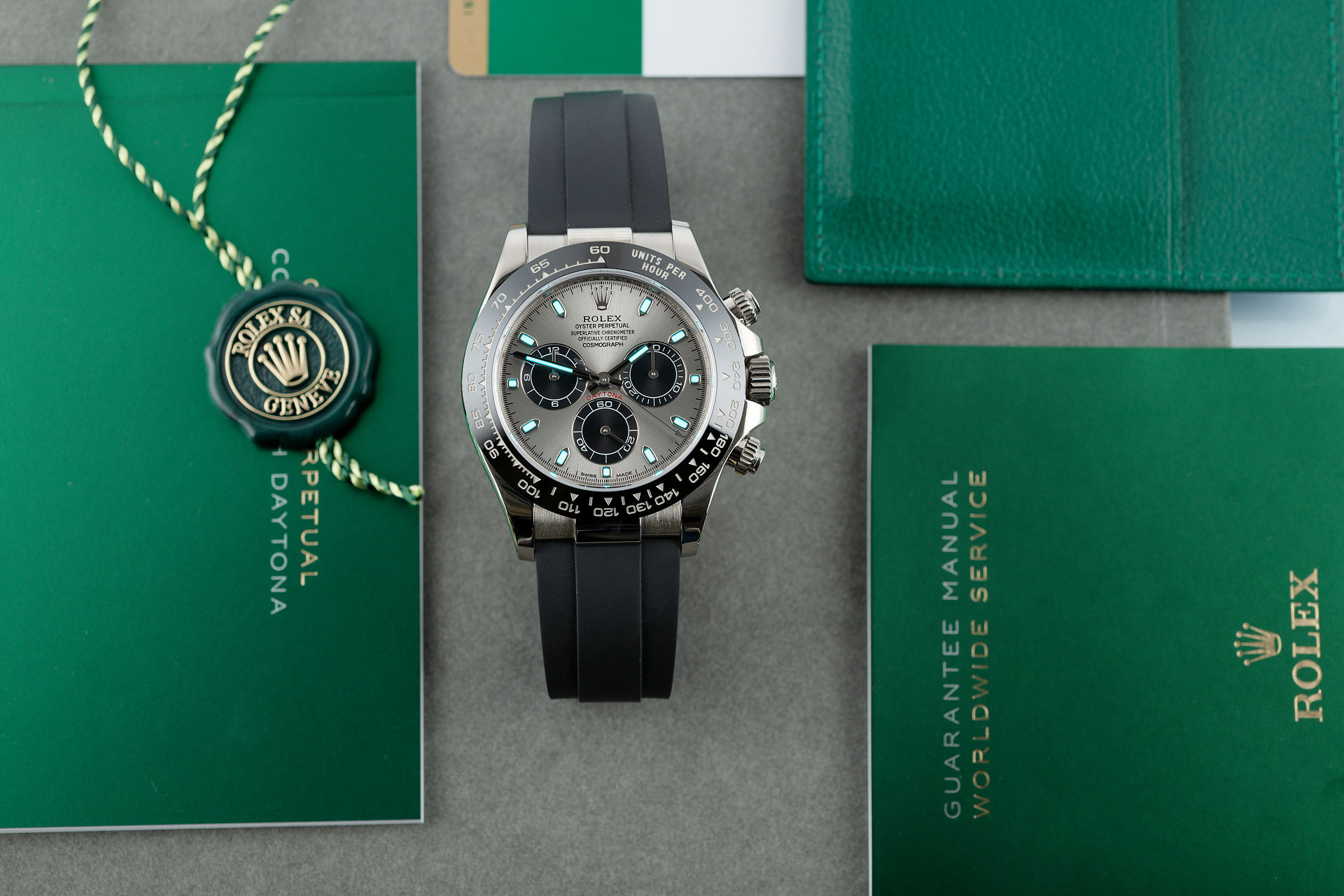 ref 116519LN | White Gold 'Latest Model' | Rolex Cosmograph Daytona