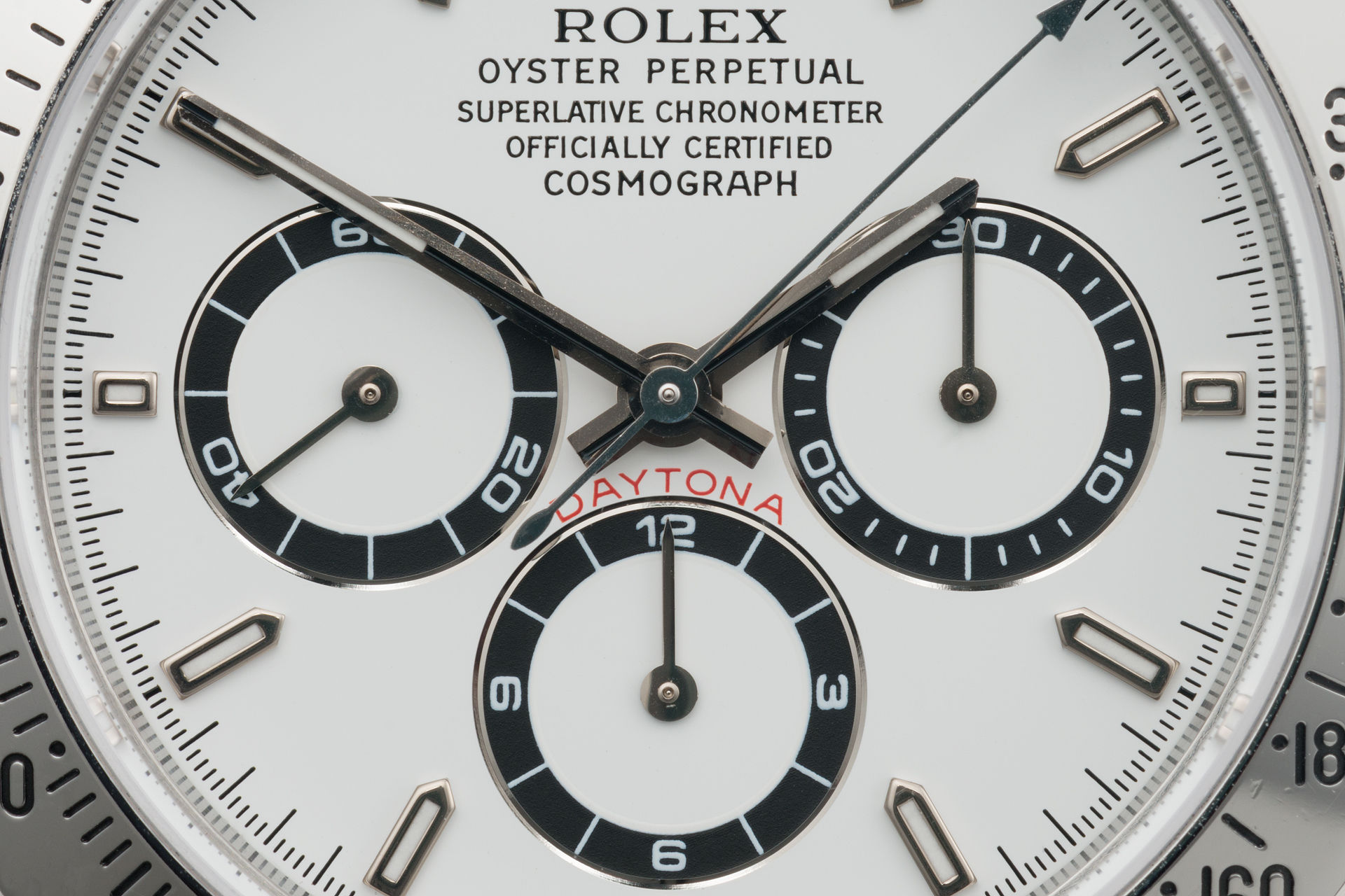 ref 16520 | Full Set 'Final Tritium'  | Rolex Cosmograph Daytona