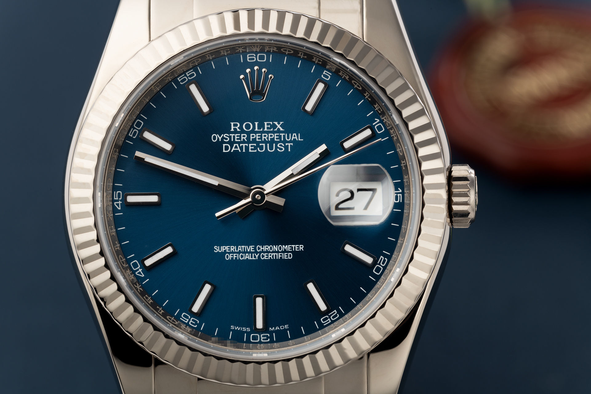18ct White Gold | ref 116139 | Rolex Datejust