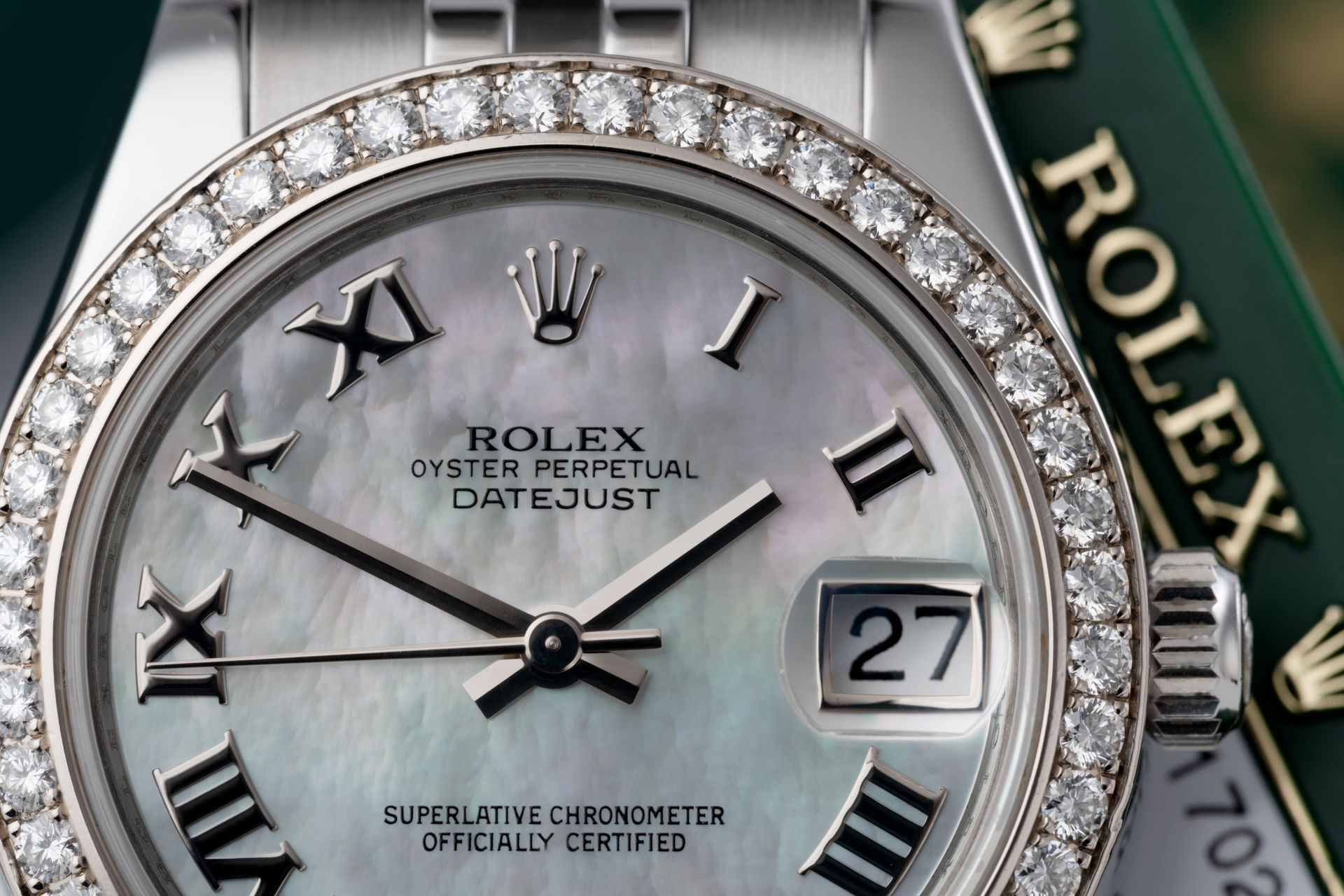 Diamond Set | ref 178384 | Rolex Datejust 31