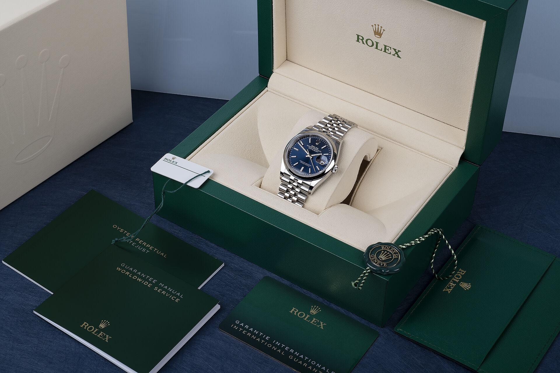 ref 126200 | 5 Year Rolex Warranty | Rolex Datejust 36