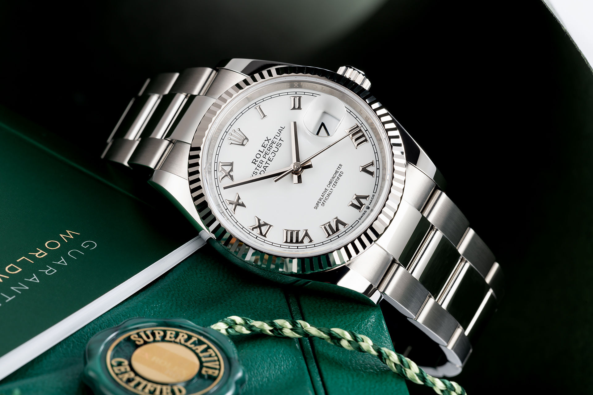 ref 126234 | Rolex Warranty To 2024 | Rolex Datejust 36