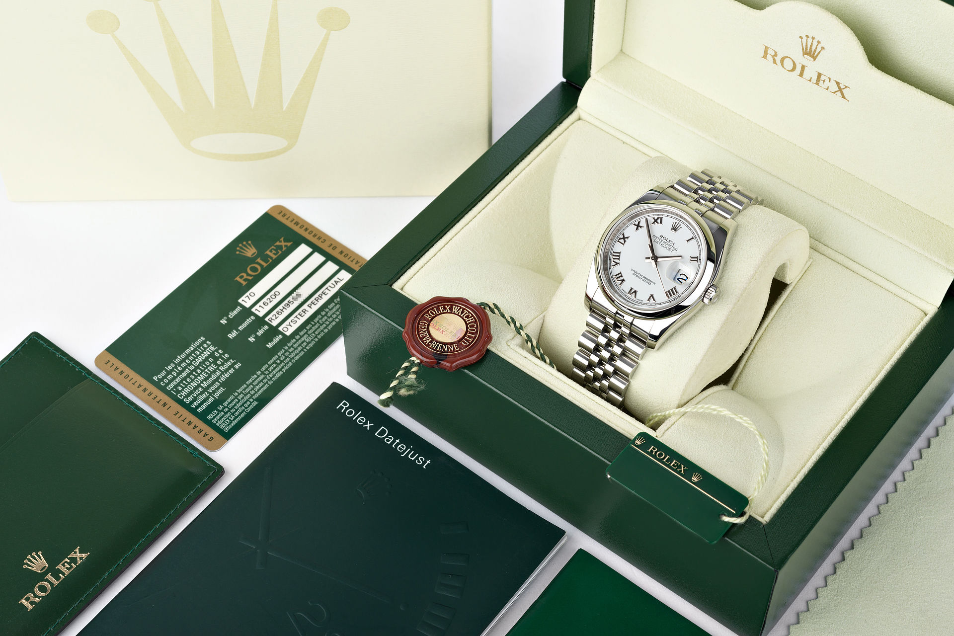 ref 116200 | 36mm Box & Papers | Rolex Datejust