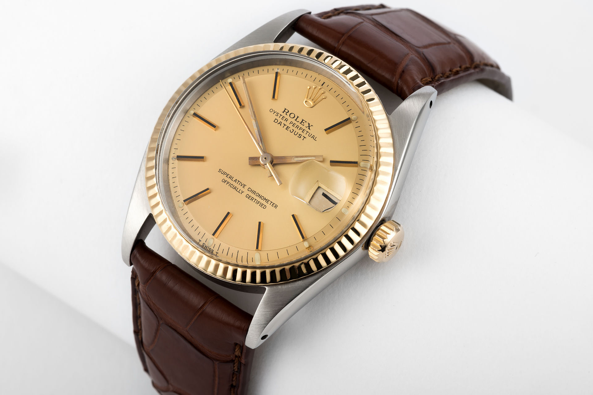 ref 1601 | 'Pie Pan Dial' | Rolex Datejust