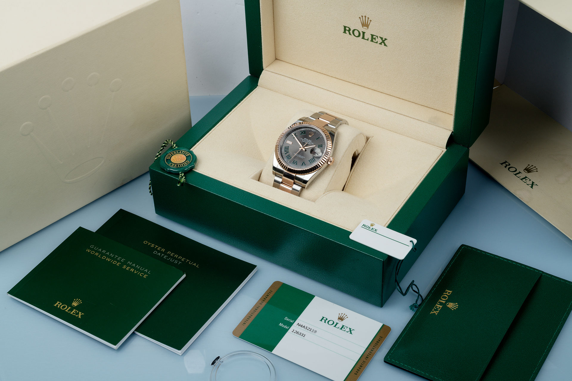 ref 126331 | 2019 'Everose & Steel'  | Rolex Datejust 41