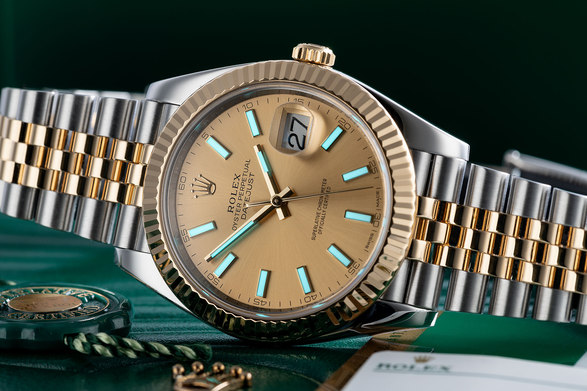 ref 126333 | 'New Model' 5 Year Rolex Warranty  | Rolex Datejust 41