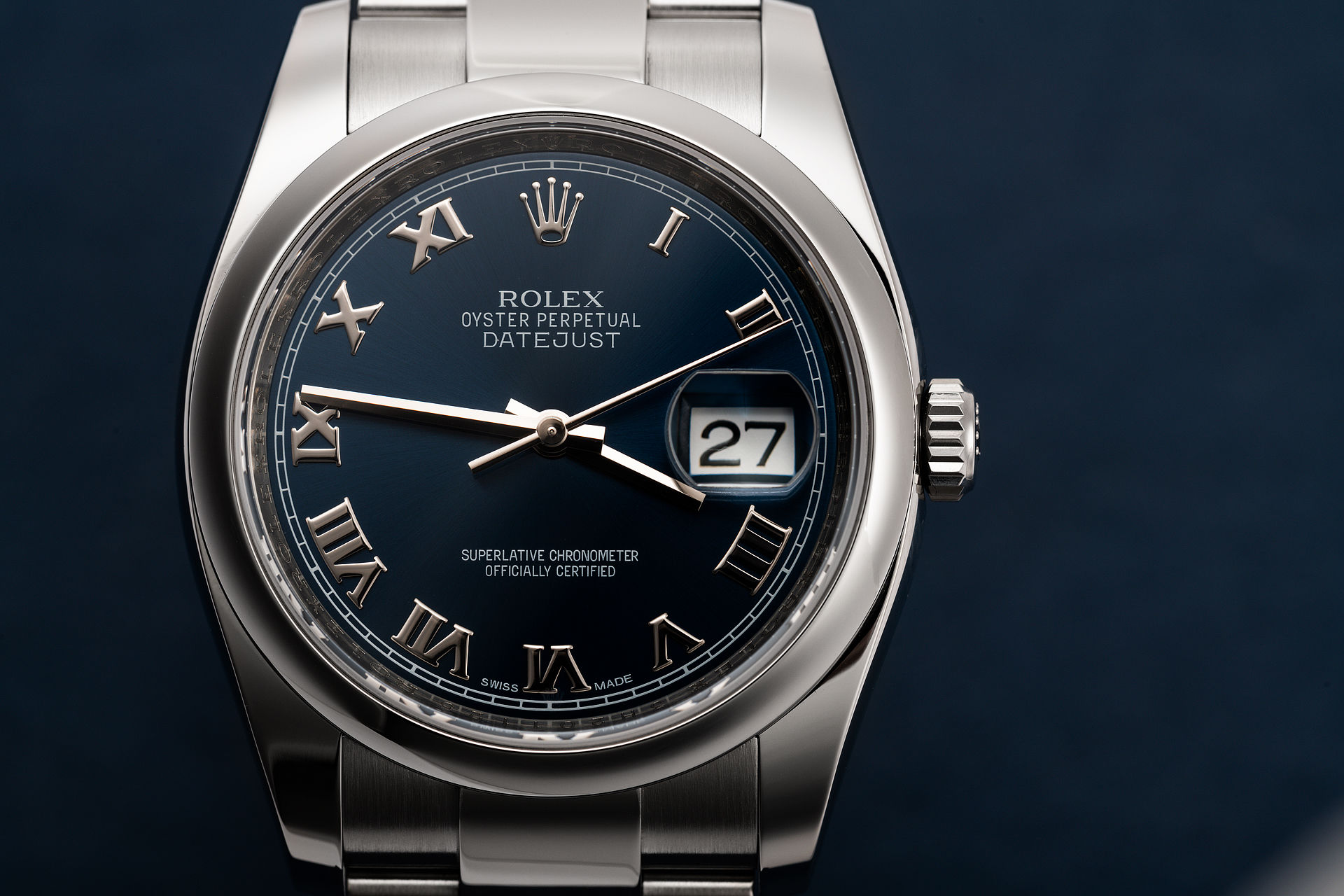 ref 116200 | 'Complete Set' Box & Papers  | Rolex Datejust