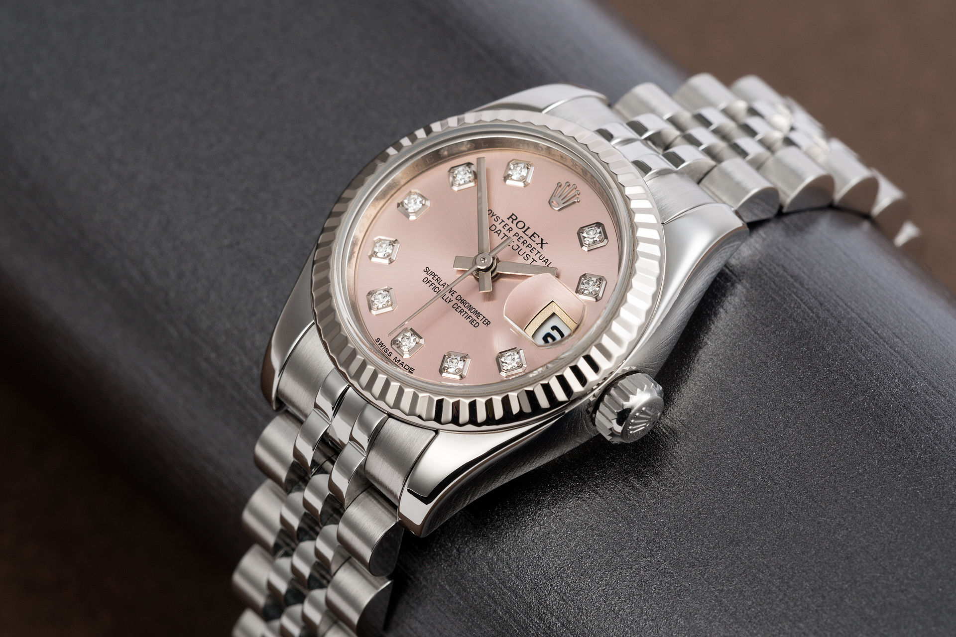 ref 179174 | Diamond Dial 'Full Set' | Rolex Datejust