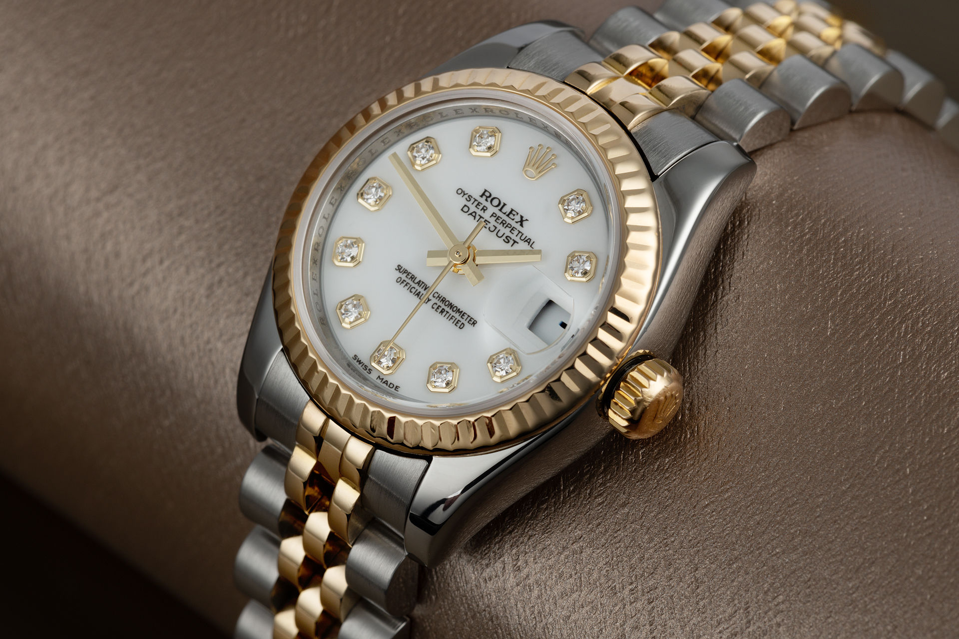Diamond Dial | ref 179173 | Rolex Datejust