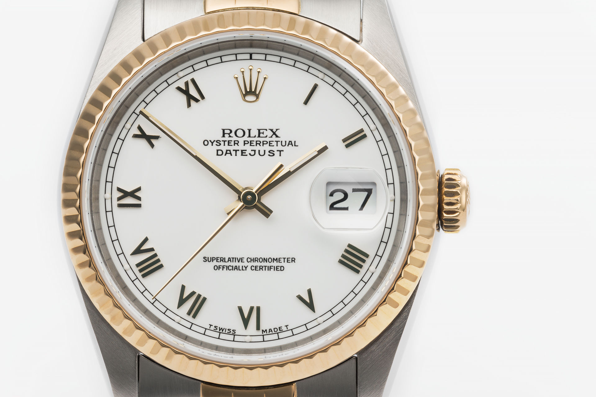 ref 16233 | Gentlemans 'Gold & Steel' | Rolex Datejust