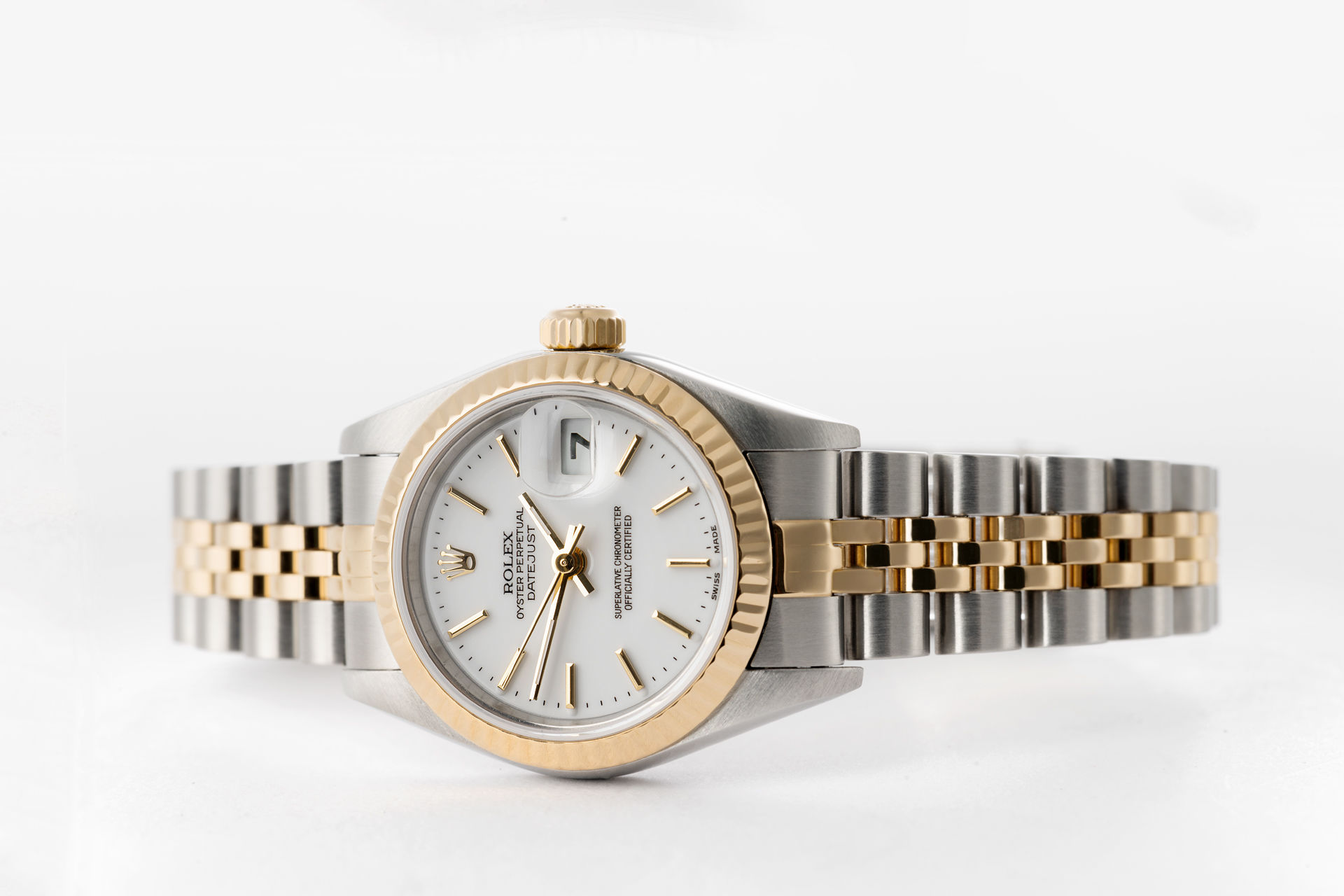 ref 79173 | Gold & Steel 'Box & Papers' | Rolex Lady-Datejust