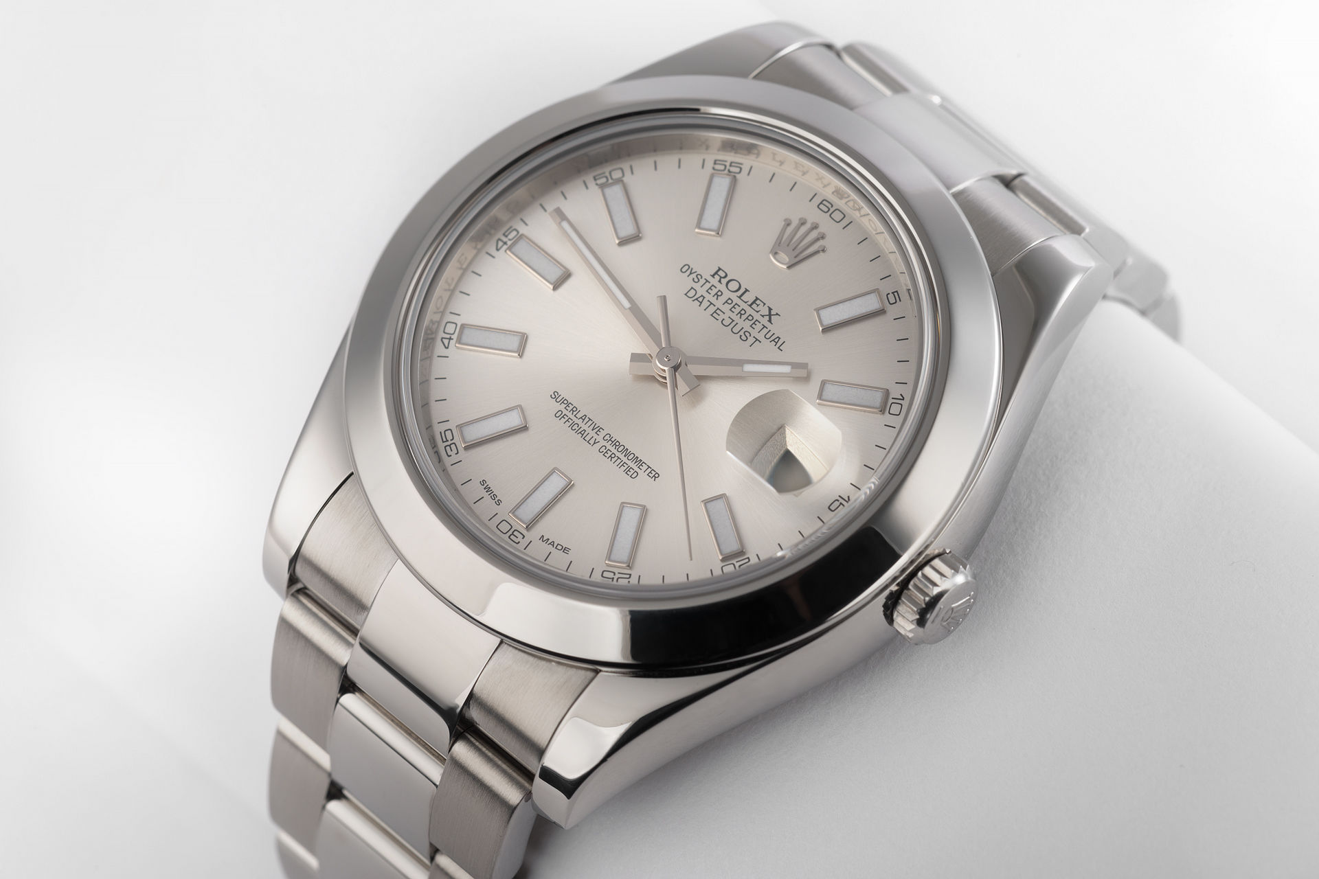 ref 116300 | 41mm 'Box & Papers' | Rolex Datejust II