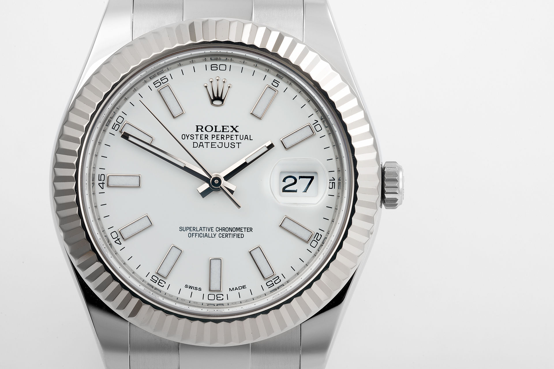 ref 116334 | 'Full Set' - Rolex Warranty | Rolex Datejust II