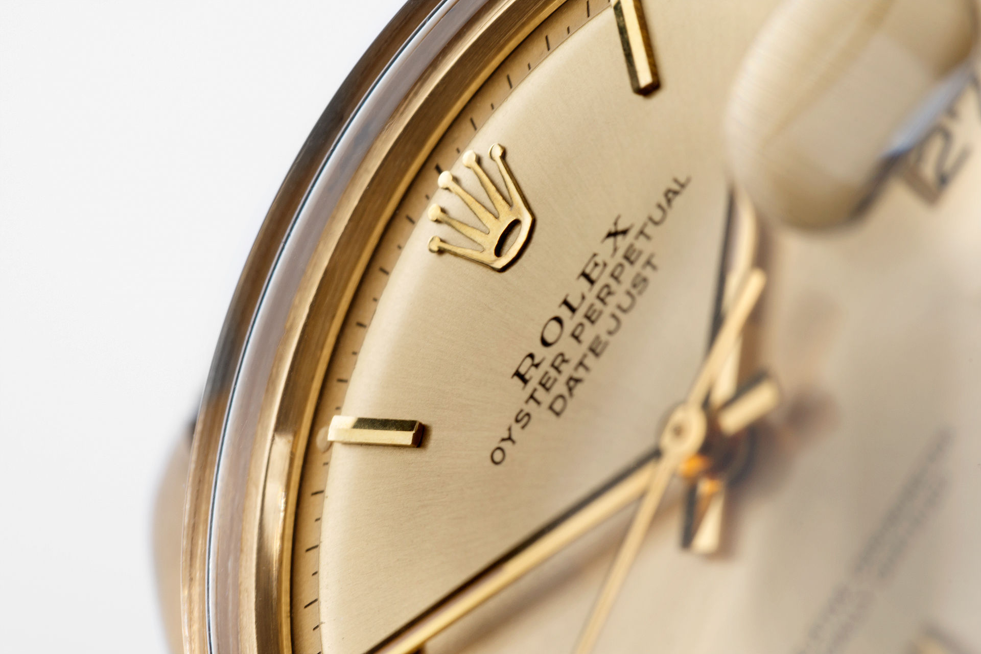 ref 1601 | 18ct Yellow Gold 'Pie Pan' | Rolex Datejust