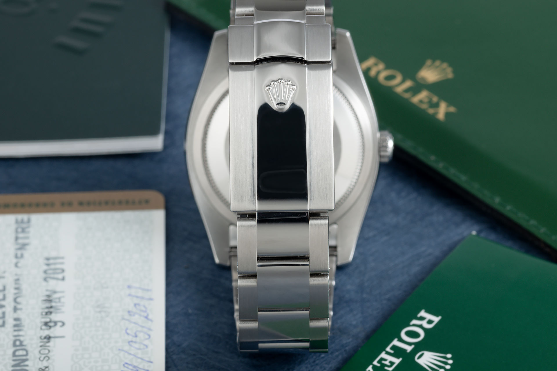 ref 116234 | White Gold Bezel 'Box & Papers' | Rolex Datejust