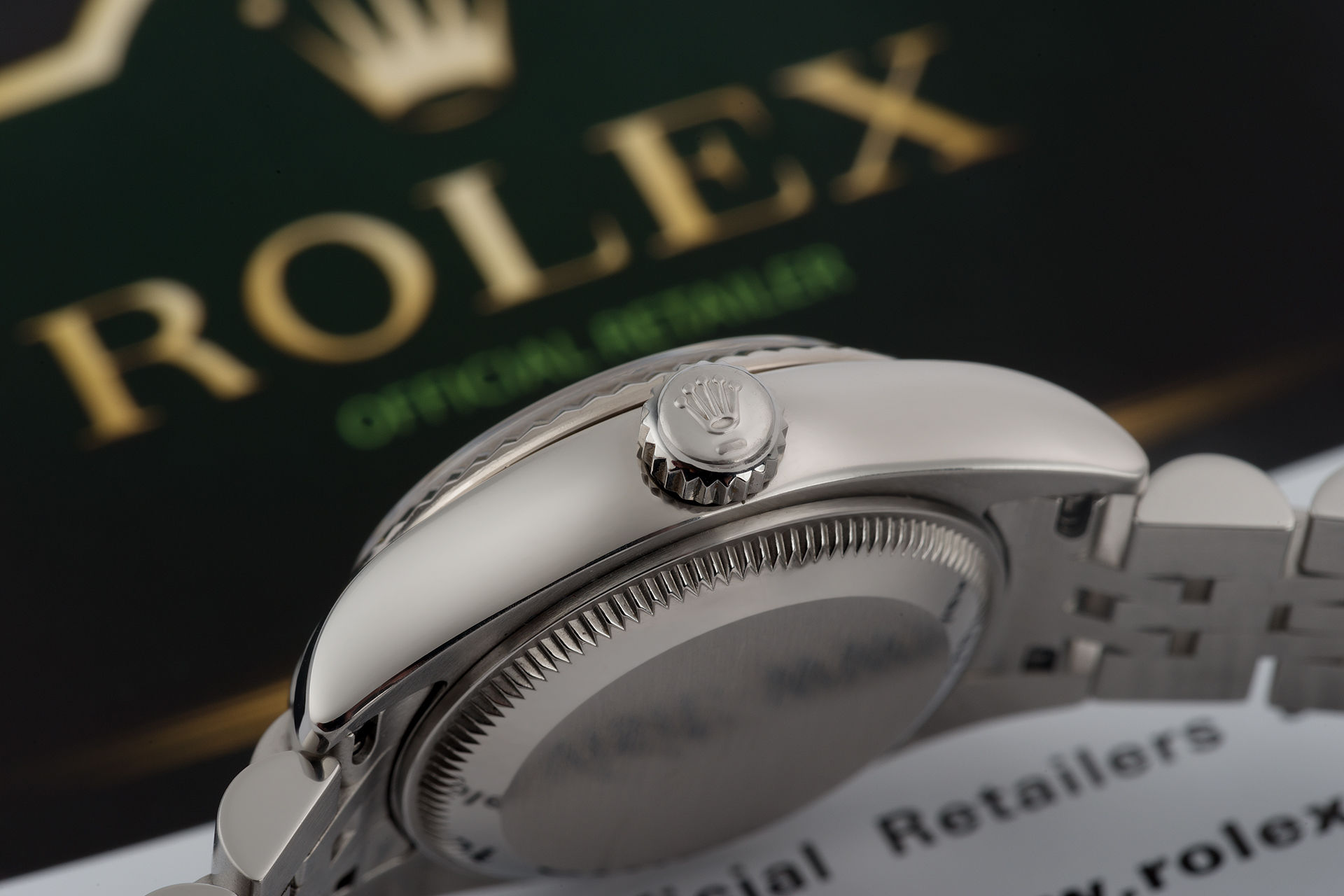 """White Gold Bezel"" Full Set 