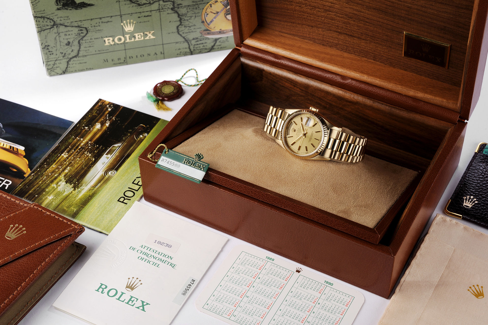 ref 18238 | 18ct Yellow Gold 'Box & Papers' | Rolex Day-Date
