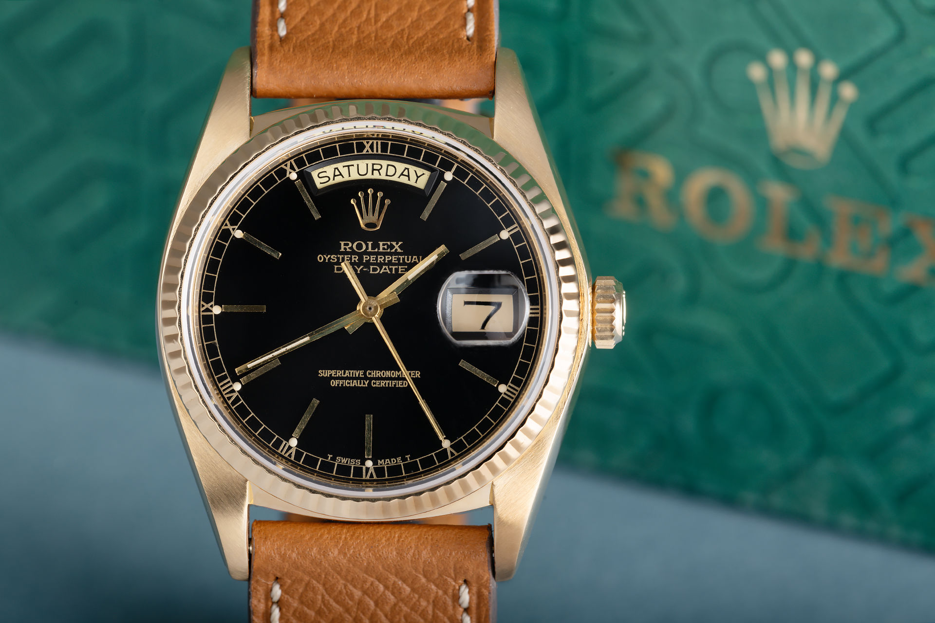 ref 18038 | 36mm Yellow Gold  | Rolex Day-Date