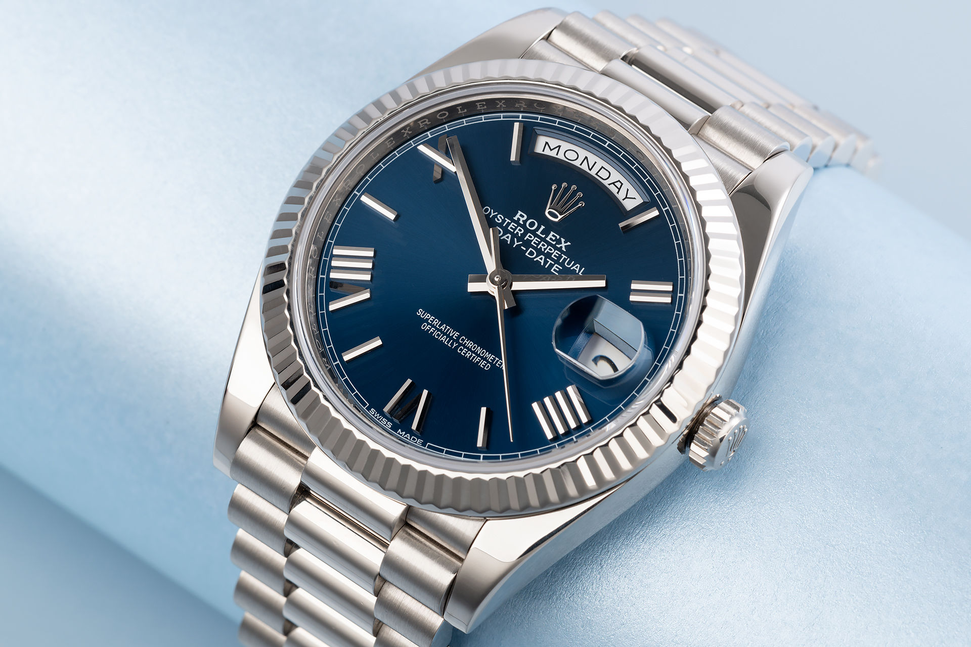 ref 228239 | 5 Year Warranty 'Blue Dial' | Rolex Day-Date