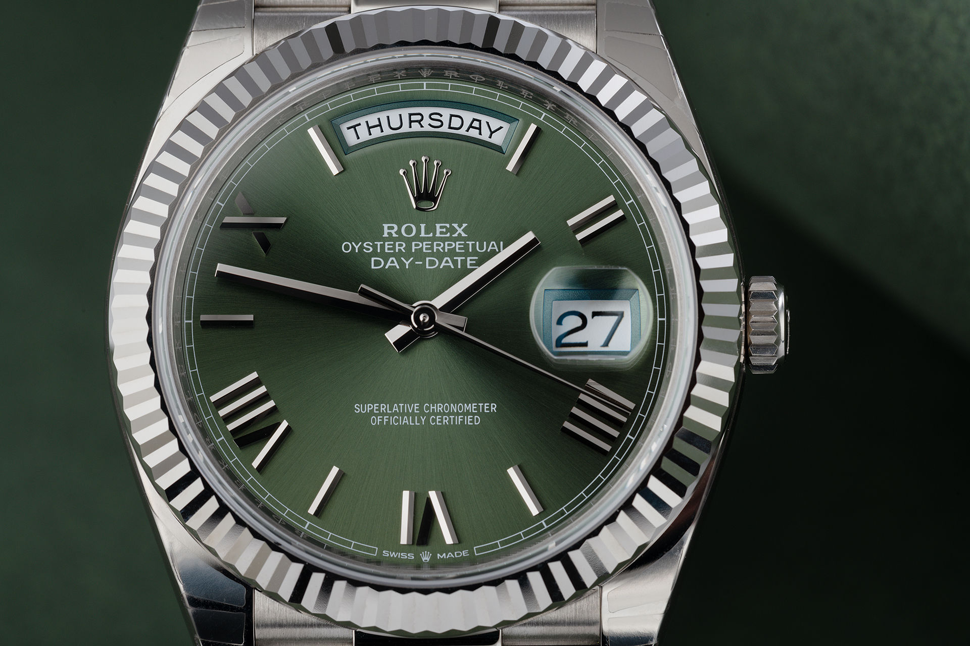 ref 228239 | 'Brand New' 18ct White Gold  | Rolex Day-Date