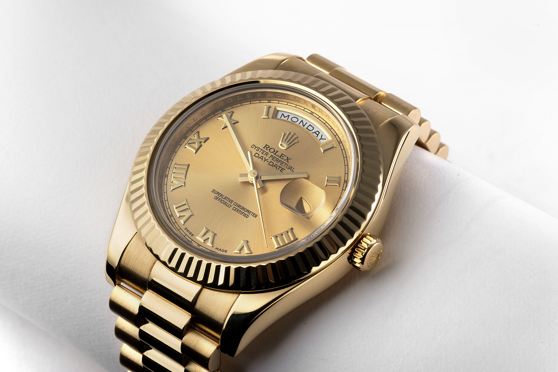ref 218238 | 41mm Yellow Gold | Rolex Day-Date II