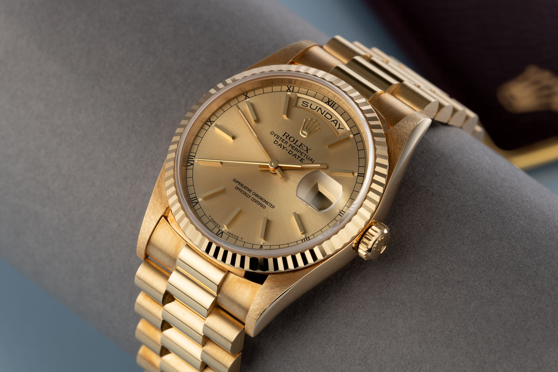 Rolex Day-Date Watches | ref 18238 | 'Never Polished' Box & Papers ...