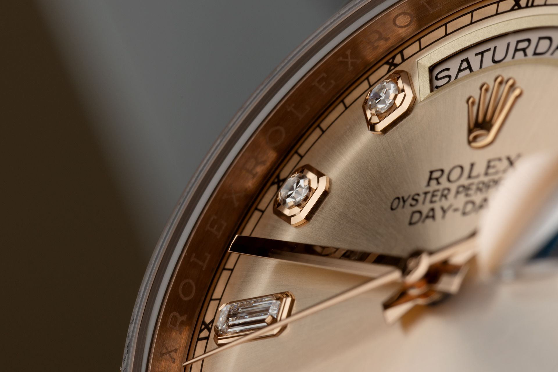 "Rose Gold ""Diamond Dial""  