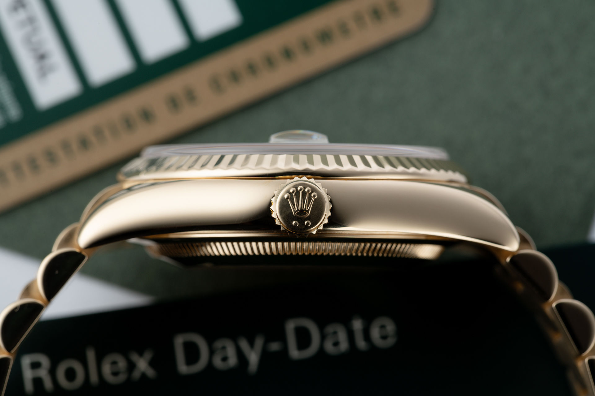 ref 118238 | Yellow Gold 'Box & Certificate' | Rolex Day-Date