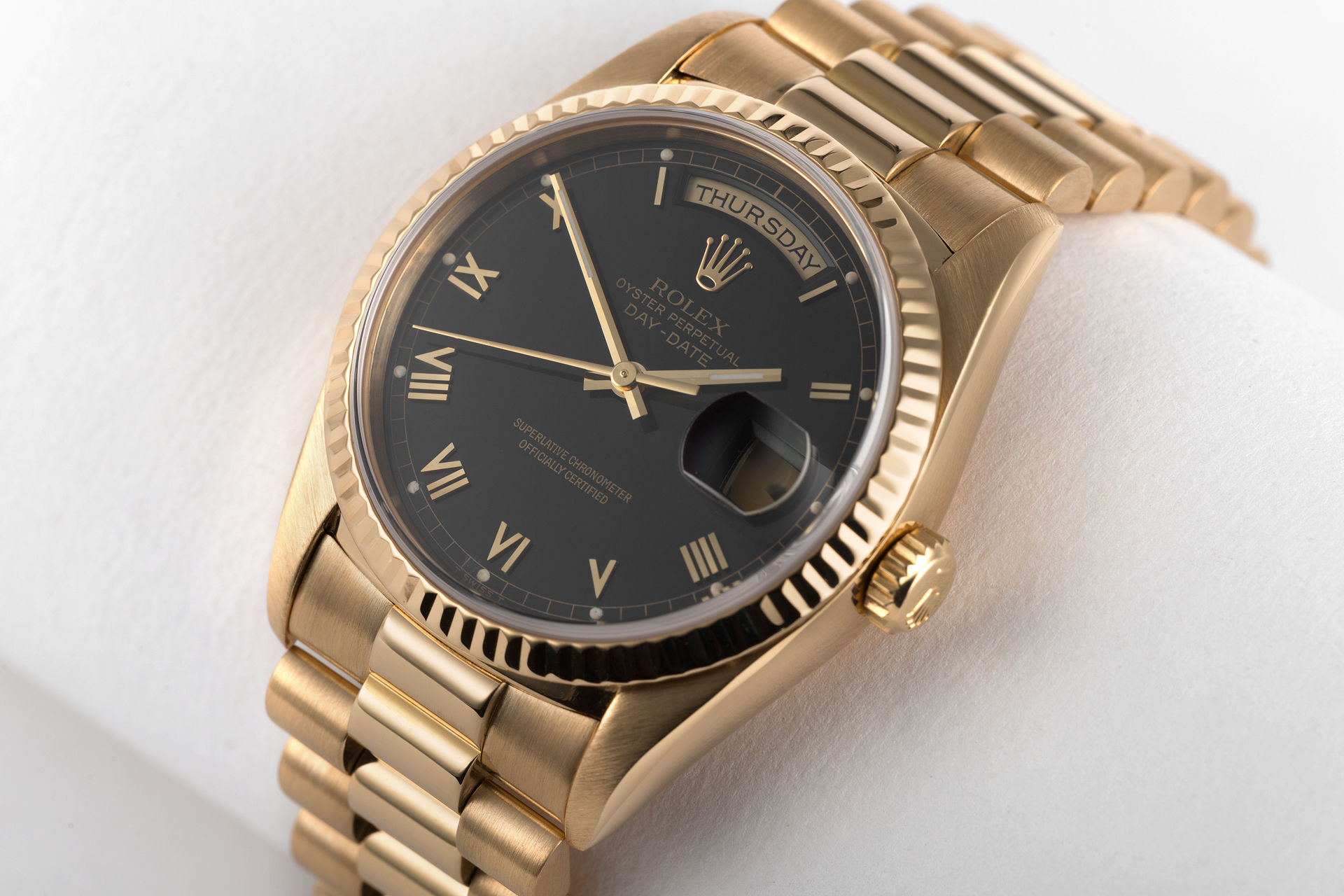 ref 18238 | Yellow Gold 'Full Set' | Rolex Day-Date