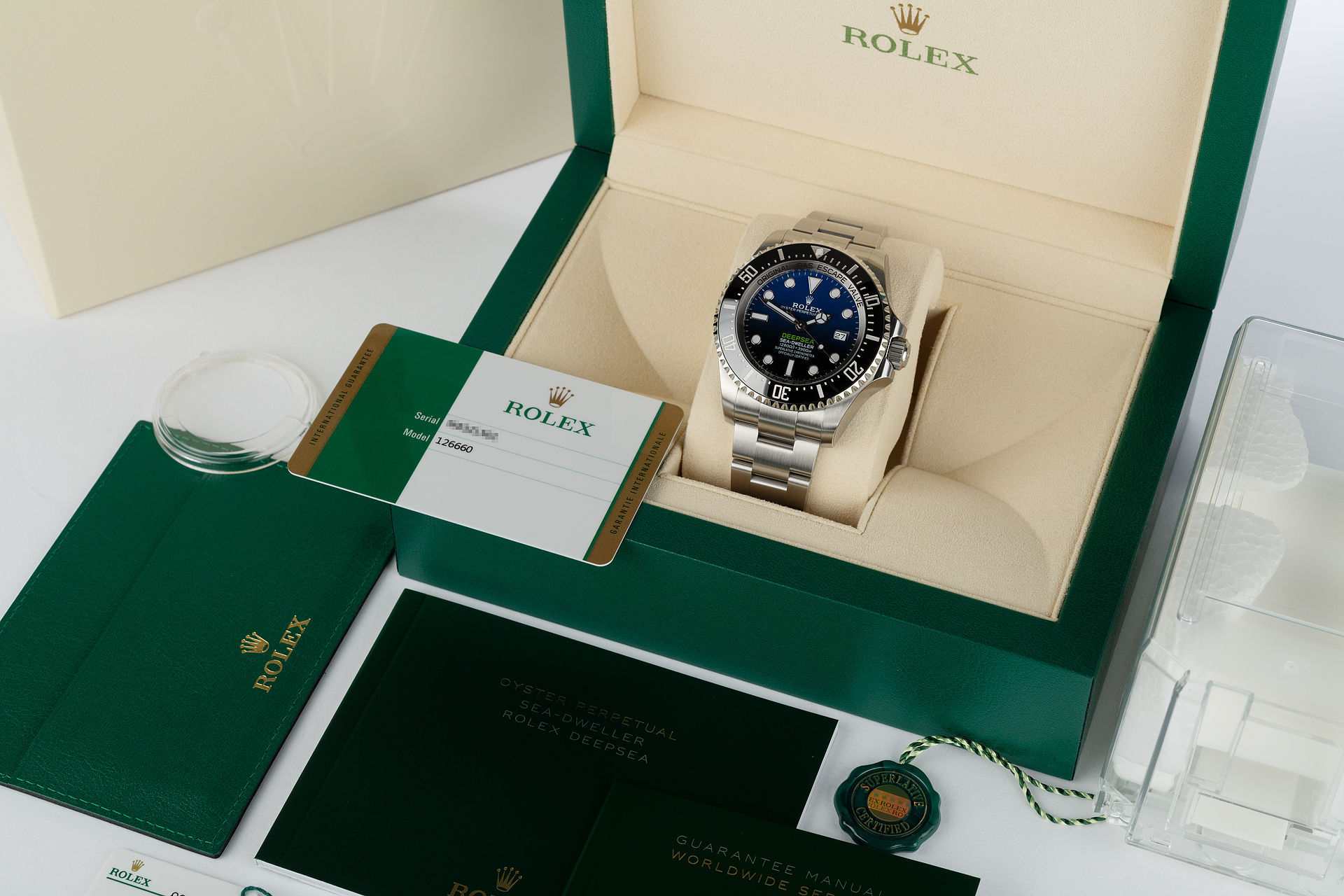 ref 126660 | Brand New '3235' James Cameron | Rolex Deepsea D-Blue