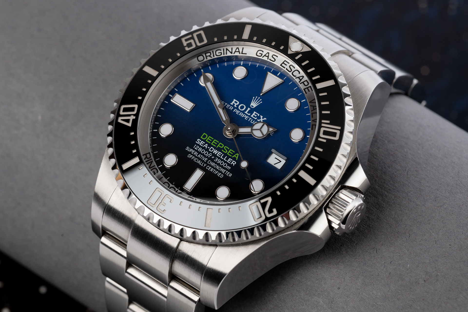 ref 126660 | Complete Set 'New Calibre' | Rolex Deepsea D-Blue