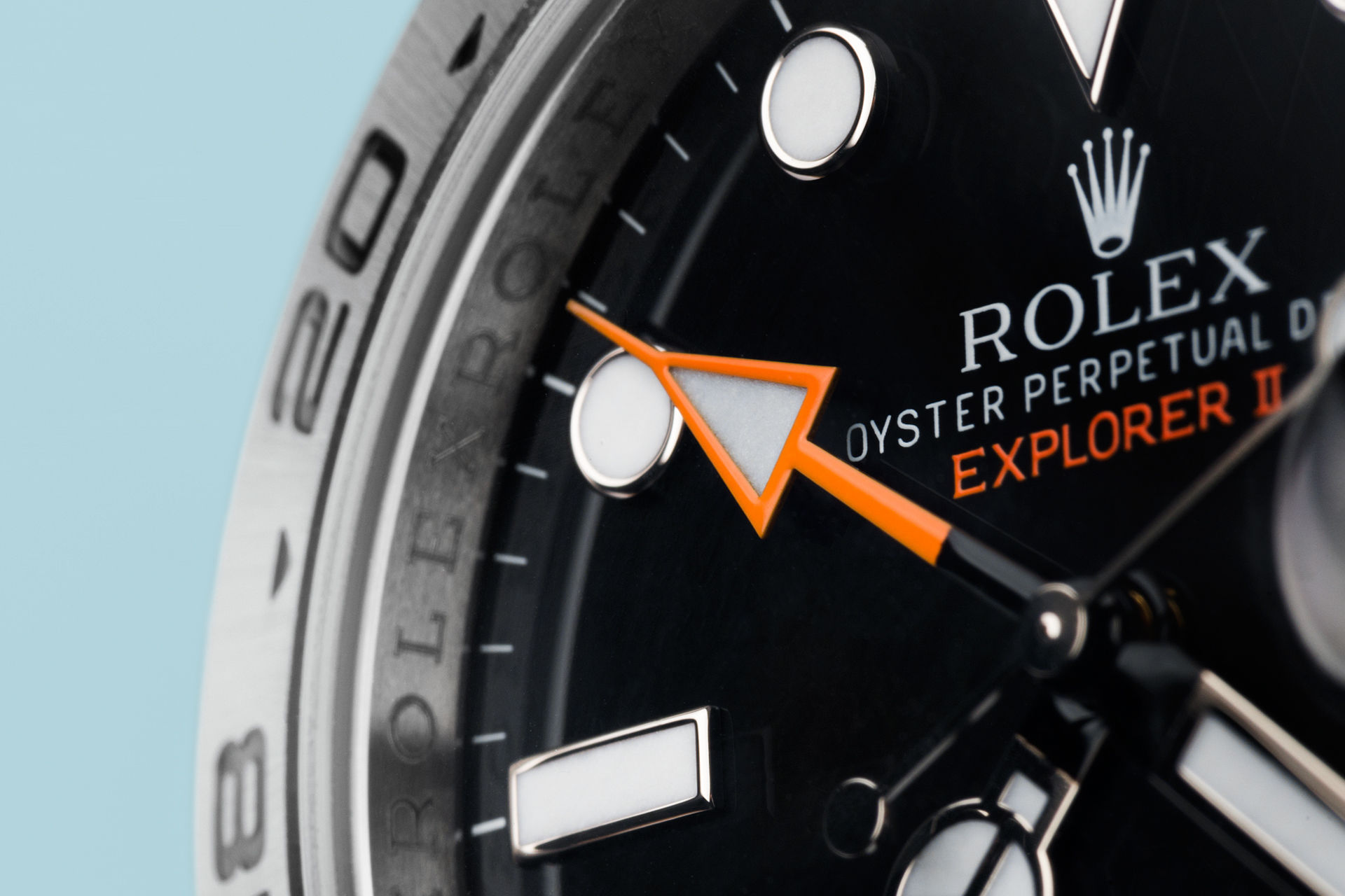 ref 216570 | 42mm Orange Hand  | Rolex Explorer II