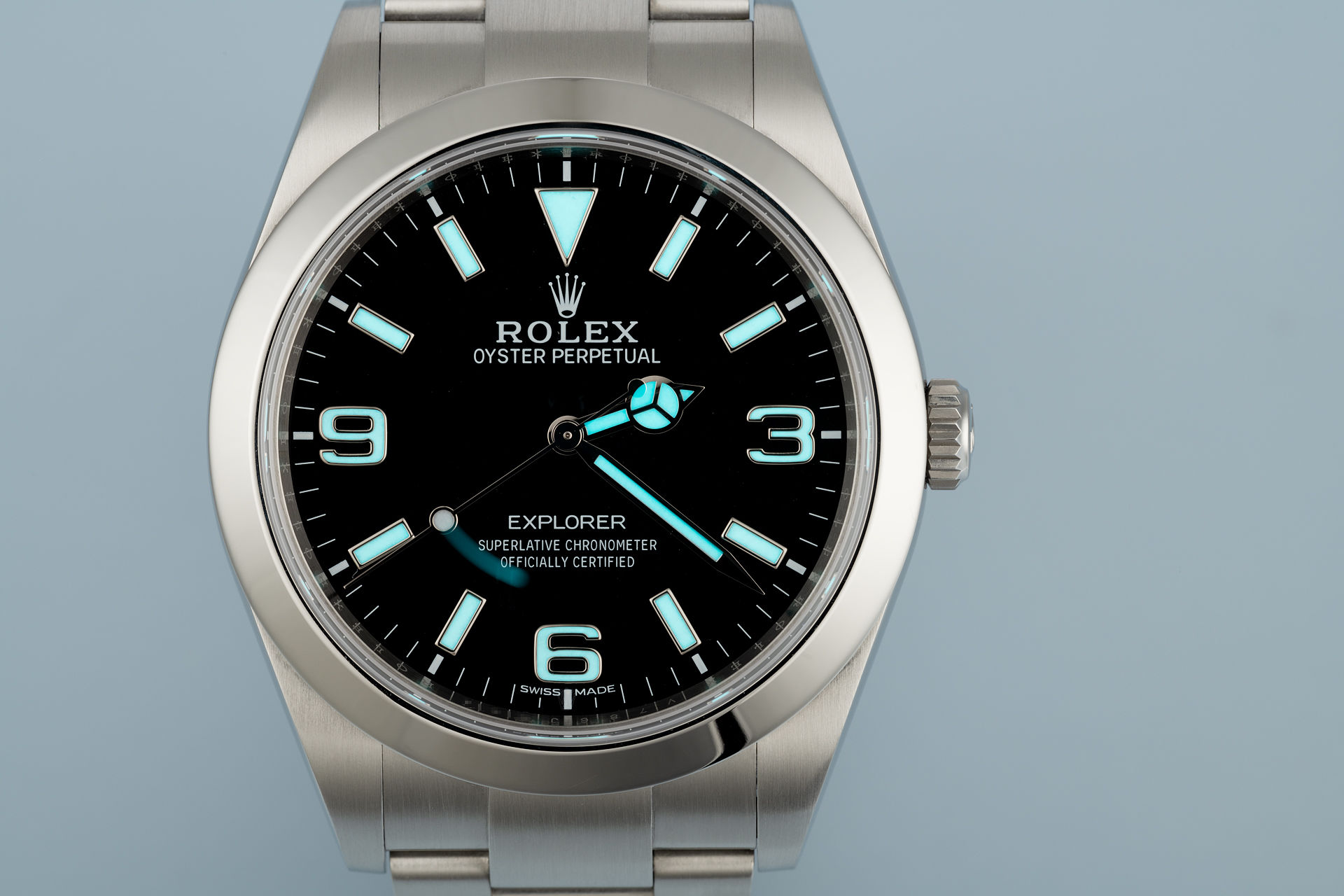 ref 214270 | New Chromalight Model | Rolex Explorer