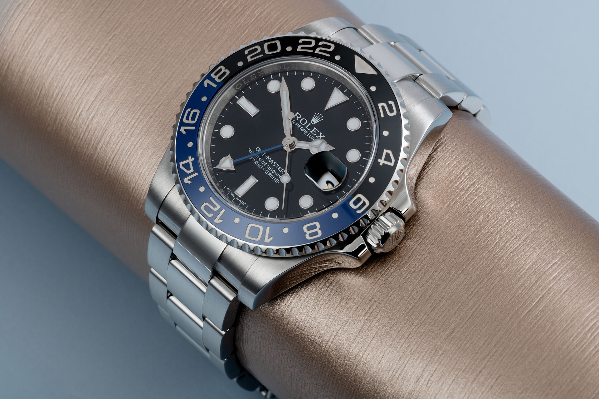 ref 116710BLNR | Box and Certificate  | Rolex GMT-Master II