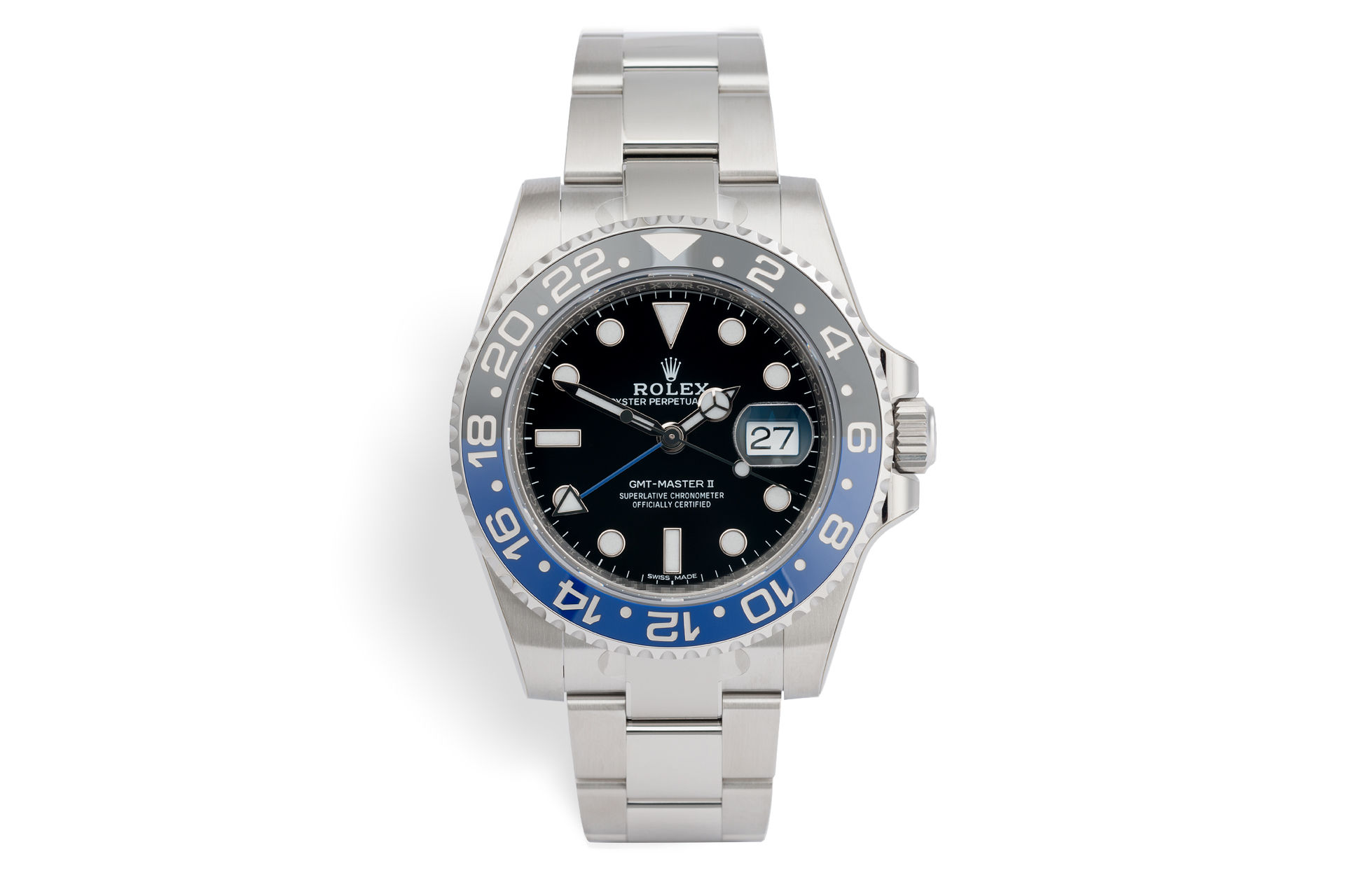 ref 116710BLNR | 'Batman' 5 Year Warranty | Rolex GMT-Master II