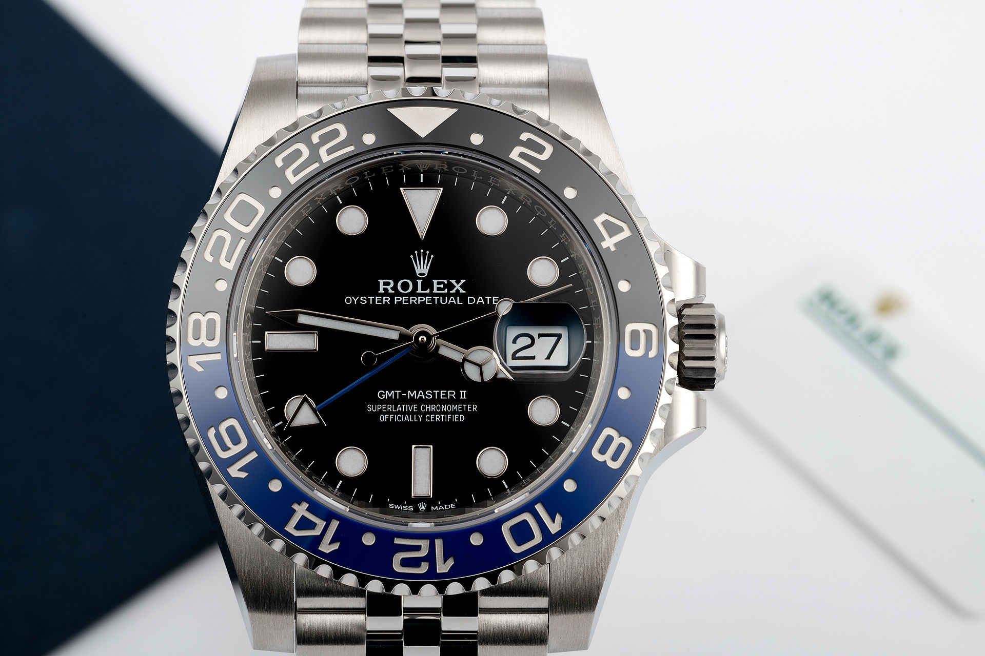 ref 126710BLNR | 'Brand New' 5 Year Warranty | Rolex GMT-Master II