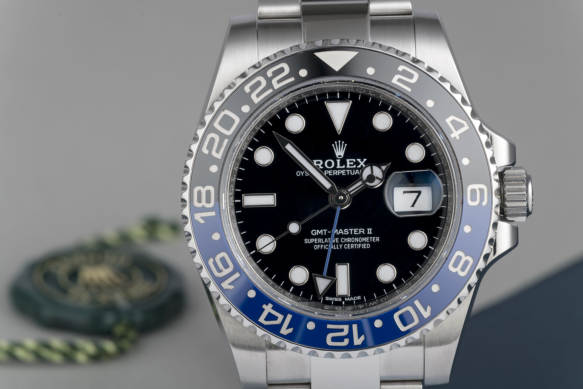ref 116710BLNR | Discontinued | Rolex GMT-Master II