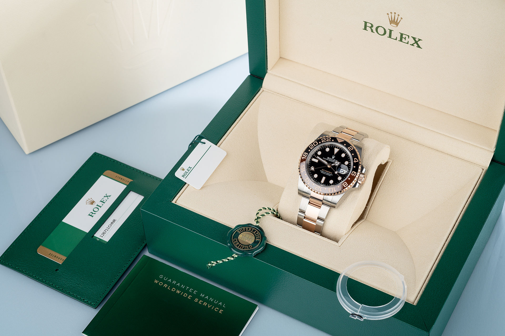 ref 126711CHNR | 'Brand New' Root Beer | Rolex GMT-Master II
