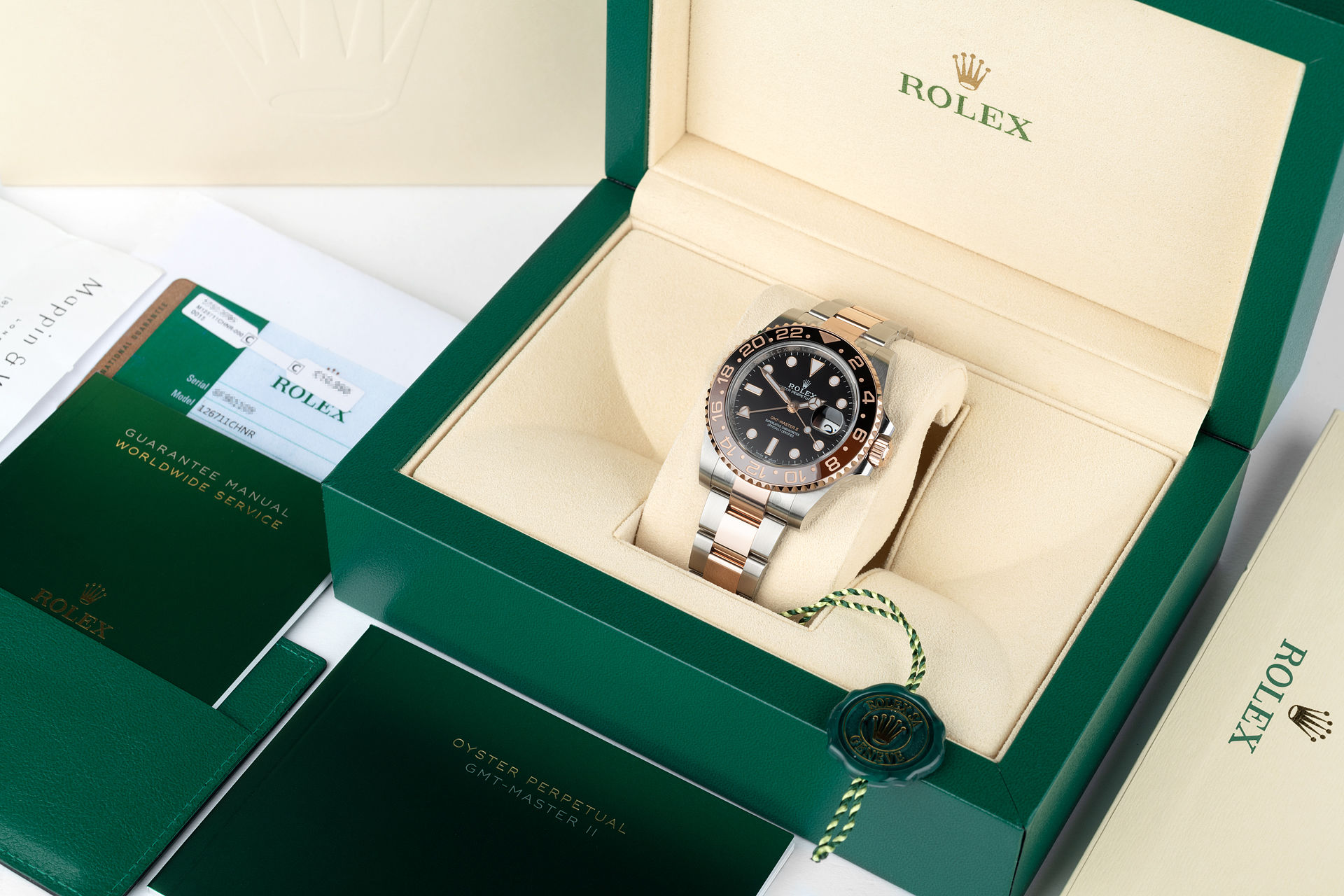 ref 126711CHNR | 'Brand New Root Beer' | Rolex GMT-Master II