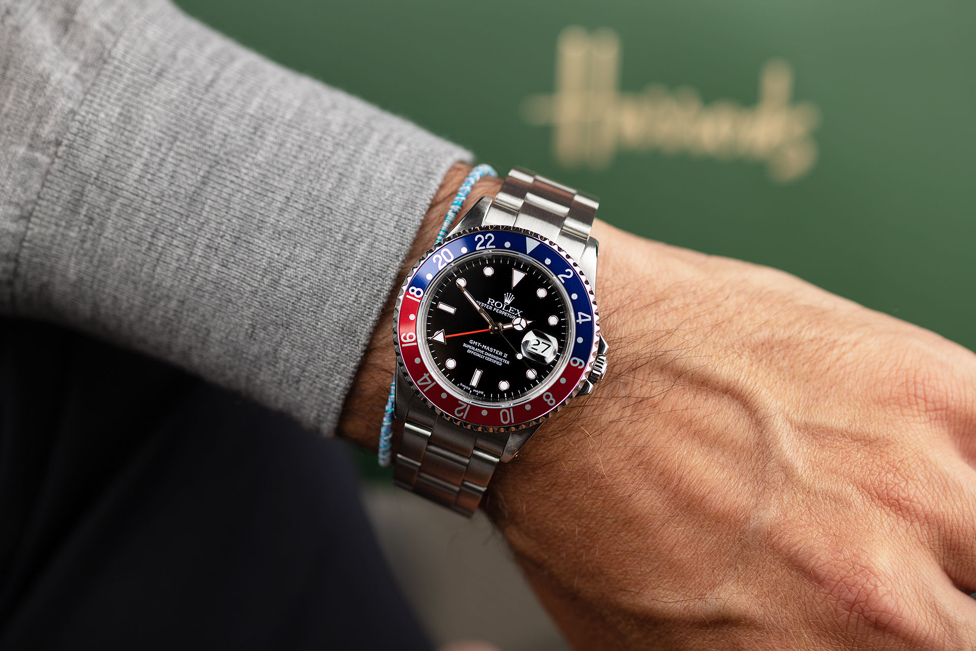 ref 16710 | 'Box & Papers'  | Rolex GMT-Master II