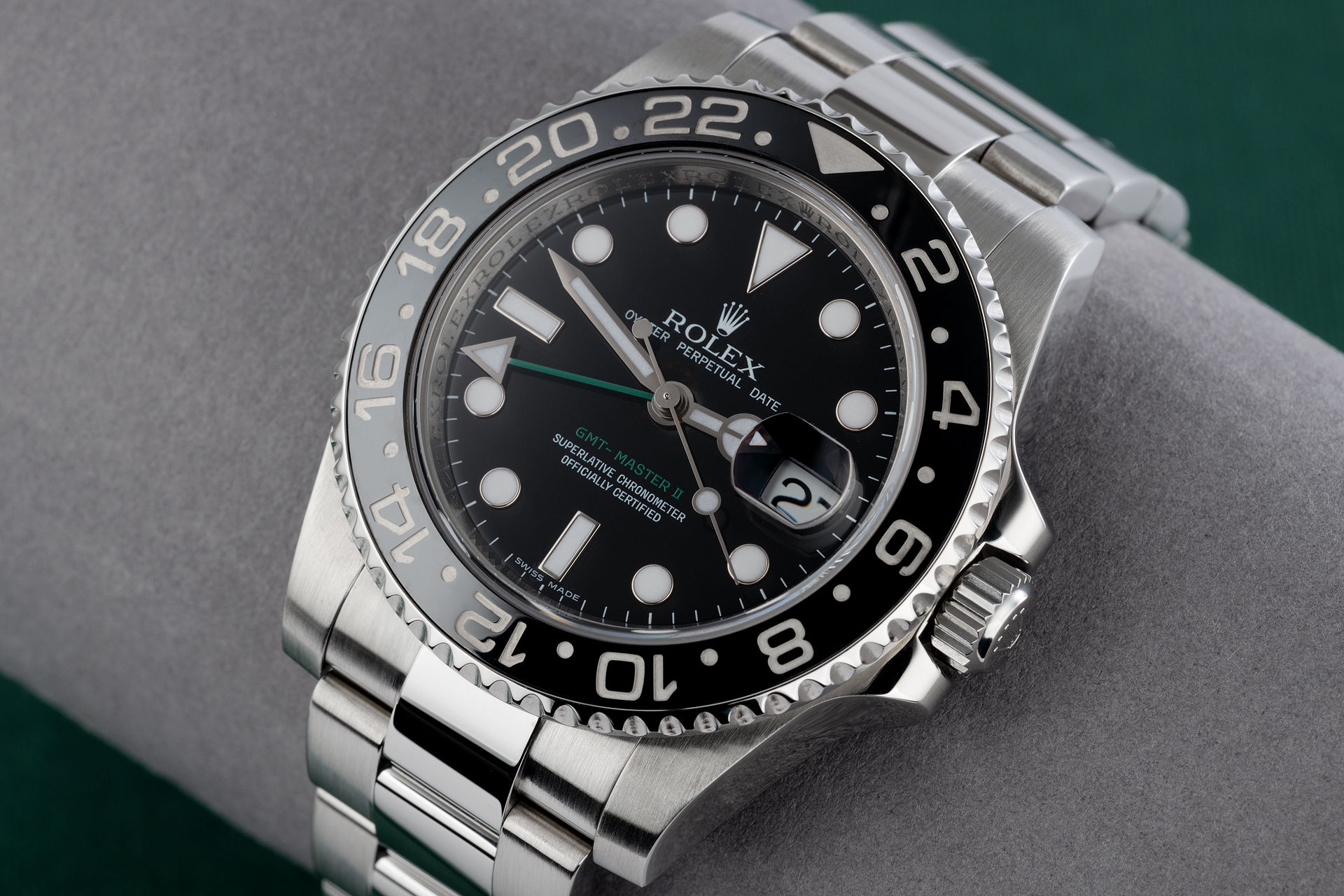ref 116710LN | 'Ful Set' Discontinued Model | Rolex GMT-Master II