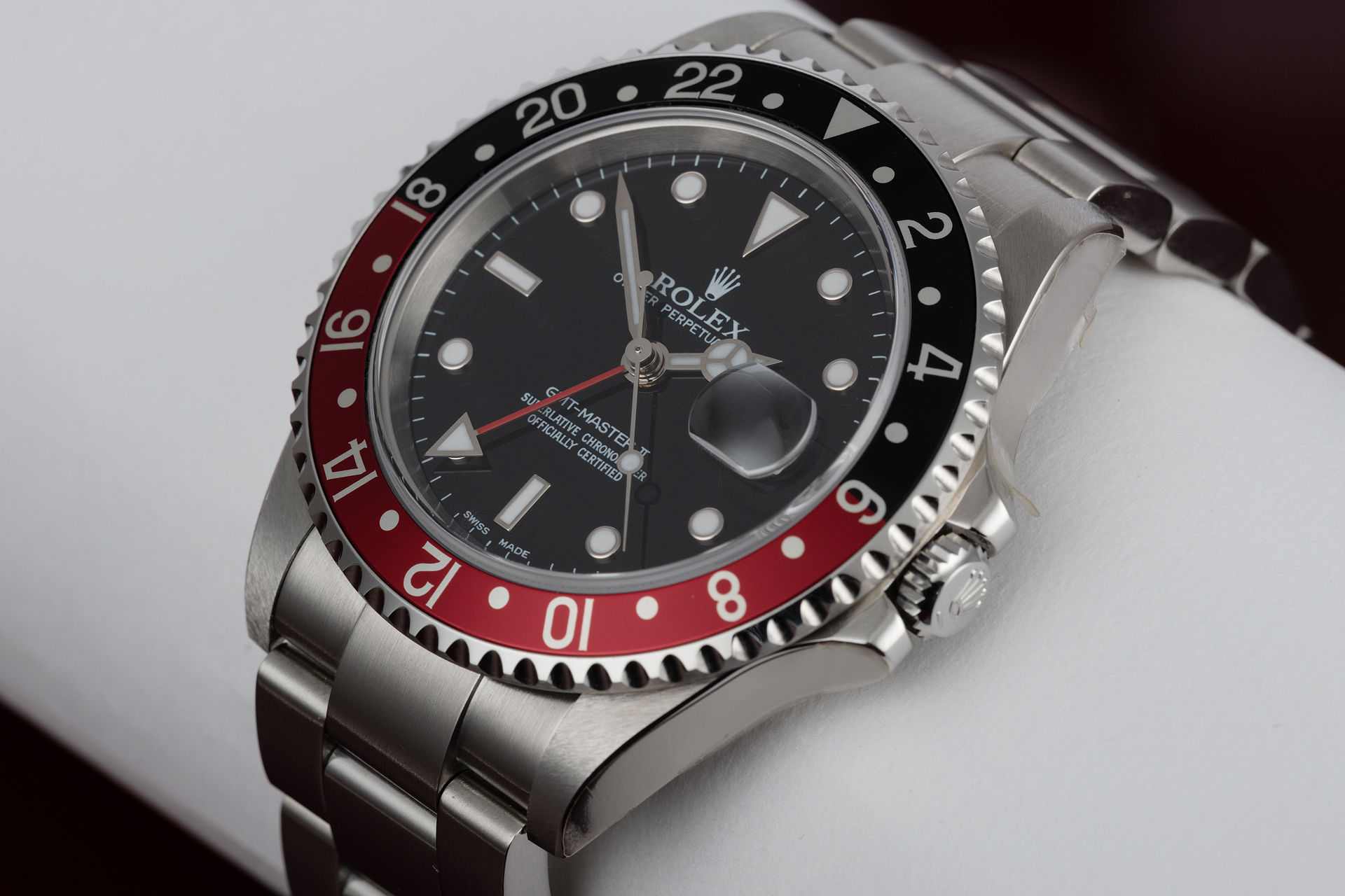 ref 16710 | 'New Old Stock' Box & Papers | Rolex GMT-Master II