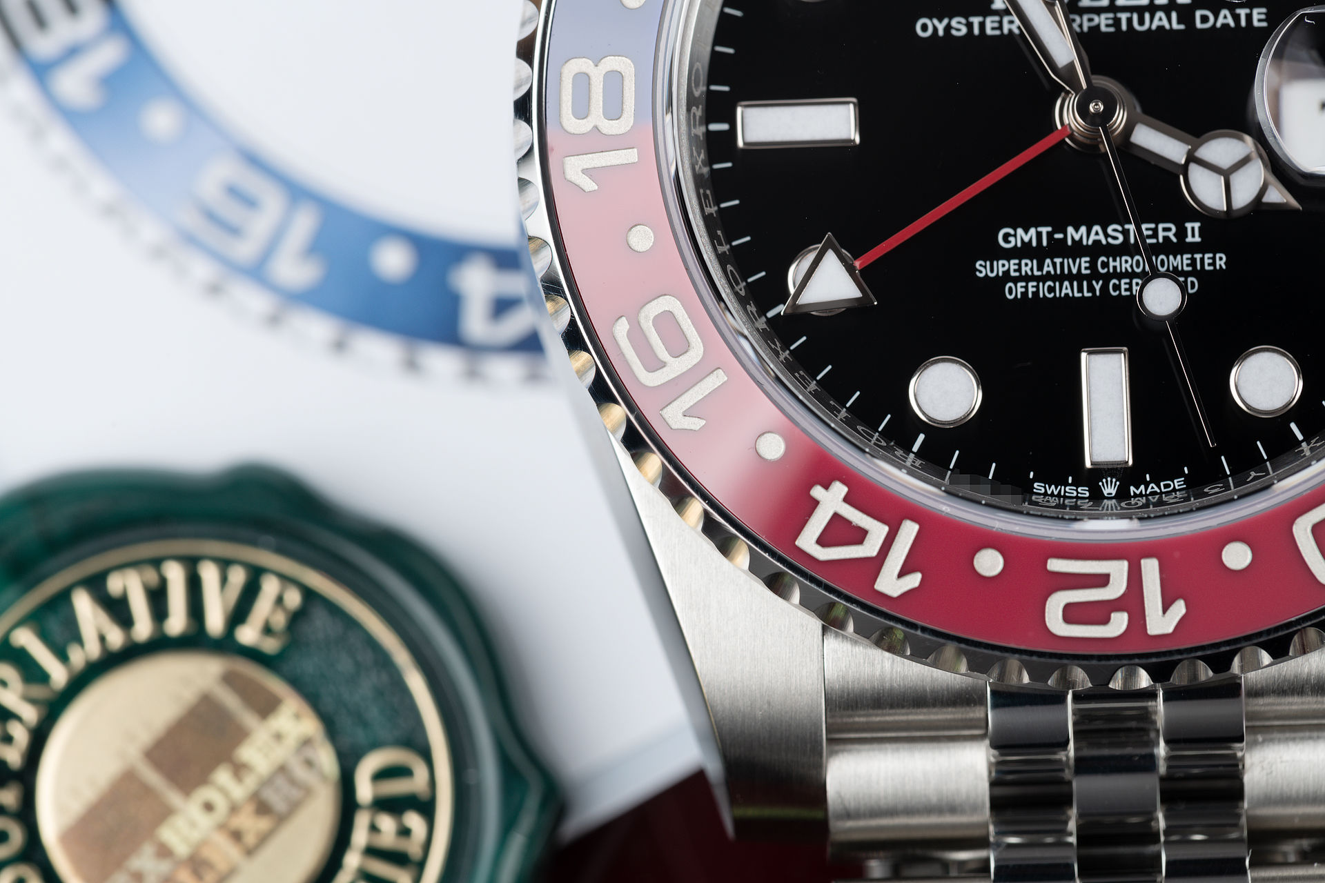 ref 126710BLRO | Pepsi 'Full Set 5 Year Warranty' | Rolex GMT-Master II
